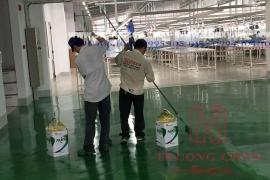 Thi công sơn epoxy ở tại Hà Nội