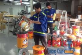 Báo giá thi công sơn epoxy