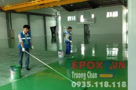Quy trình sơn epoxy theo 7 bước
