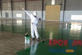 Các bước thi công sơn epoxy chuẩn nhất