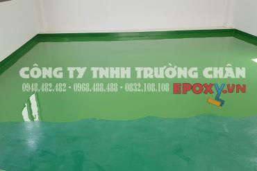 Phương pháp thi công sơn sàn epoxy tự san phẳng dày 3mm
