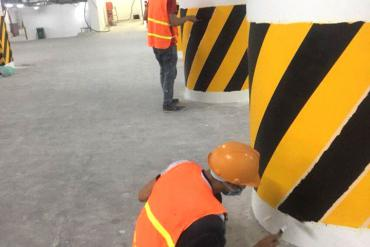 Phương pháp sơn epoxy cho tường bê tông và tường trám mastic