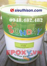 Sơn epoxy gốc nước 916W Noroo Nanpao (Sunday Paint)