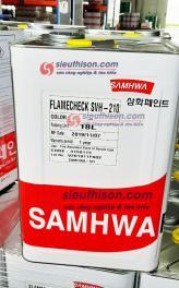 Sơn chống cháy Flamecheck SVH 210 Samhwa Paint cho kết cấu thép