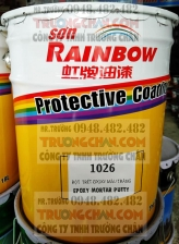 Bột trét epoxy 1026 Rainbow  - Bột epoxy trám trét sàn và tường
