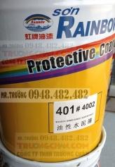 Sơn 401 Rainbow - Sơn nước gốc dầu chống thấm rainbow