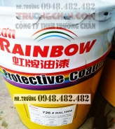 Sơn 726 Rainbow - Sơn PU màu vàng (Lọai N) 16,18.19