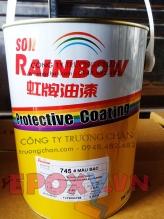 Sơn 745 rainbow làsơn phủ PU 2 thành phần