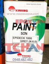 Sơn Epideck 1000 - Sơn sàn epoxy tự san phẳng Chokwang