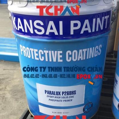Sơn Paralux P268HS - Sơn lót chống rỉ epoxy giàu kẽm