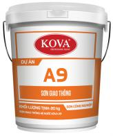 Sơn giao thông hệ nước KOVA A9 - Màu trắng