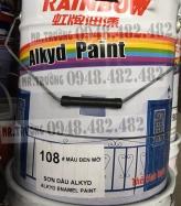 Sơn dầu màu đen Rainbow mã 108