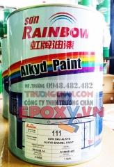 111 Sơn Alkyd Rainbow màu trắng