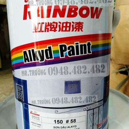 150 - Sơn dầu Rainbow đa màu