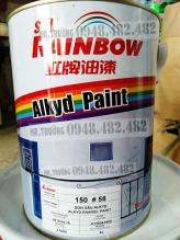 Sơn dầu alkyd không bóng màu trắng