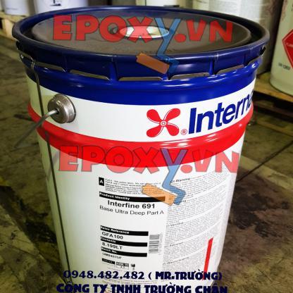 Sơn interfine 691 international epoxy acrylic isocyanate