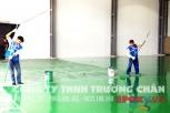 Sơn sàn nhà xưởng Hunvina KCN Sóng Thần 2