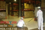 Sơn nền epoxy nhà máy Mỹ Phẩm LG Vina