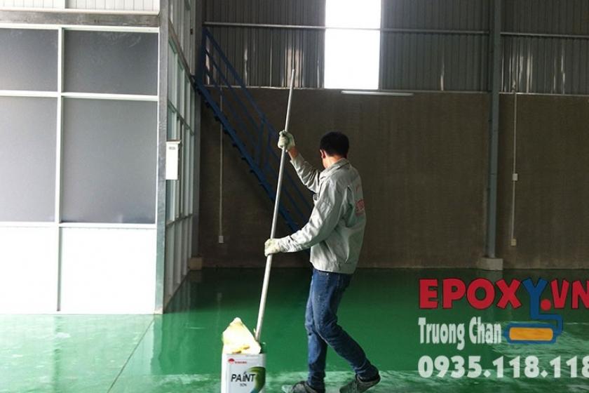 Sơn nền epoxy Xưởng Điện VietPower