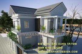 Đơn giá thiết kế kiến trúc nhà phố,biệt thự