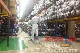 Cách thi công sơn epoxy cho nhà xưởng may